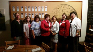 FCCLA state Officers and Advisers meet with Ms. Debbie Dodge with Lead2 Feed Program